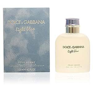 a6362eee1e5 Amazon.com : Dolce & Gabbana Eau de Toilettes Spray, Light Blue, 4.2 ...