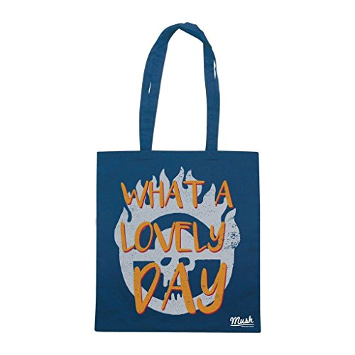 Borsa Mad Max What A Lovely Day - Blu Navy - Film by Mush Dress Your Style