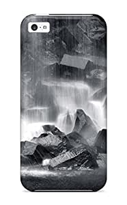 LJF phone case AmandaMichaelFazio Premium Protective Hard Case For iphone 4/4s- Nice Design - Waterfall Earth Nature Waterfall