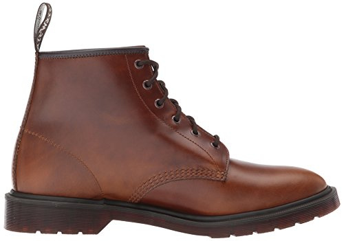 Dr.Martens Mens 101 6 Eyelet Leather Boots Smokethorn