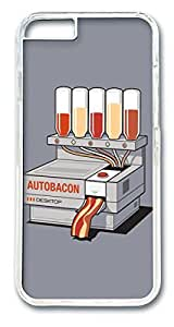 Baconizer Custom iphone 6 4.7inch Case Cover Polycarbonate Transparent by runtopwellby Maris's Diary