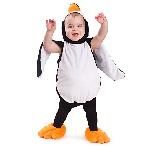 Penguin Costumes Toddler (Dress Up America Penguin Baby Costume Penguin Outfit Penguin Halloween Dress for)