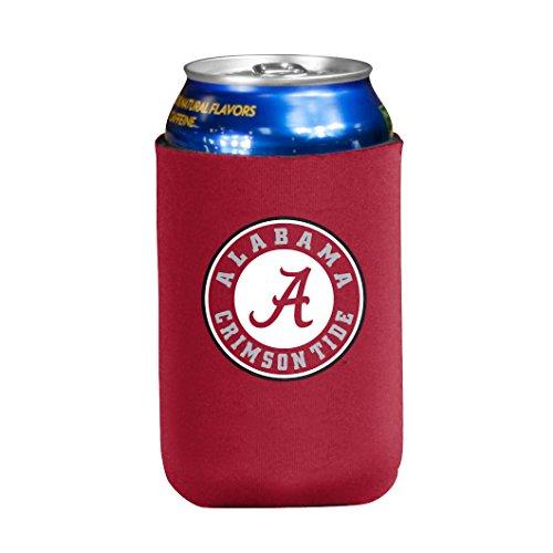 NCAA Alabama Crimson Tide Flat Drink Coozie