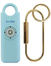 She's Birdie–The Original Personal Safety Alarm for Women by Women–130dB Siren, Strobe Light and Key Chain in 5 Pop Colors (Aqua)