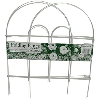 Amazon Com Glamos 778009 Folding Metal Wire Garden Fence