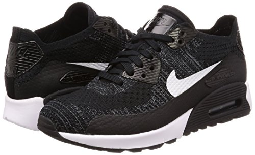 Grey Nike Black FLYKNIT 2 Womens AIR 90 Trainers ULTRA White Running MAX 0 Dark r4rqCx7