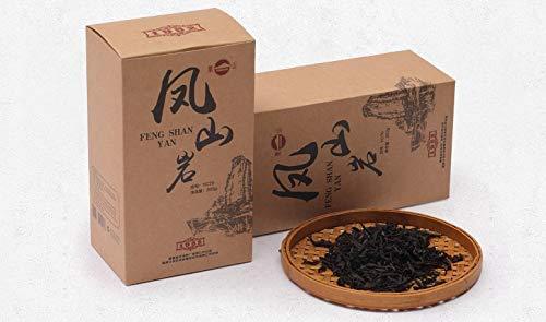 (Anxi Tieguanyin Fengshan Tea FENG SHAN YAN WuYi Oolong Rock RED Tea Dark Roasted Loose Leaves 200g凤山岩武夷山岩茶)