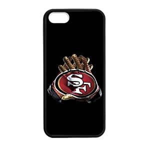 Use Both Hands To Show The Strength Of The San Francisco 49ers Iphone 5s Case Cover Shell (Laser Technology)