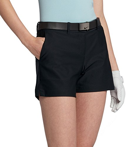 (Nike Women's 4.5 Woven Flex Golf Shorts (Black, 2))