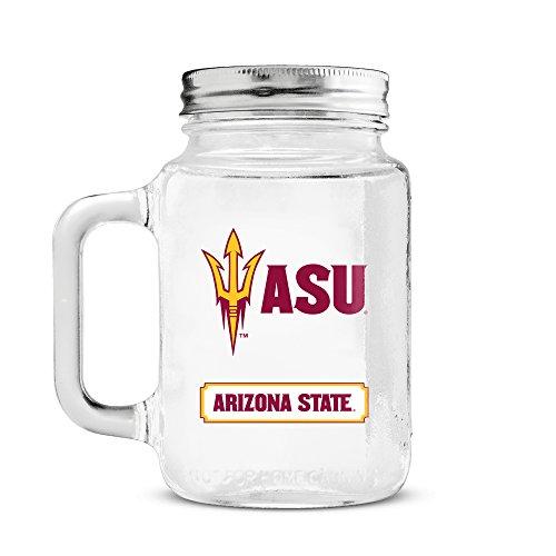 - NCAA Arizona State Sun Devils 20oz Glass Mason Jar