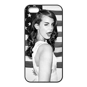 Generic Cell Phone Case for iPhone 5 5s [Black] Lana Del Rey [Custom] [Theme] HJ3442
