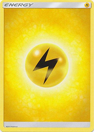 Lightning Energy - Pokemon Sun & Moon (Lightning Energy Pokemon Card)