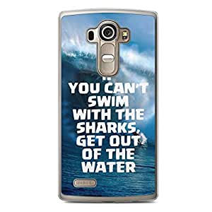 Sharks LG G4 Transparent Edge Case - Beach Collection