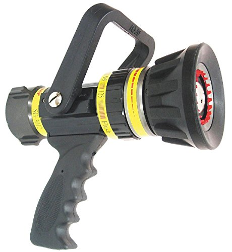 National Fire Equipment - SG3012 - Fire Hose Nozzle, 1-1/2 In., Black by National Fire Equipment