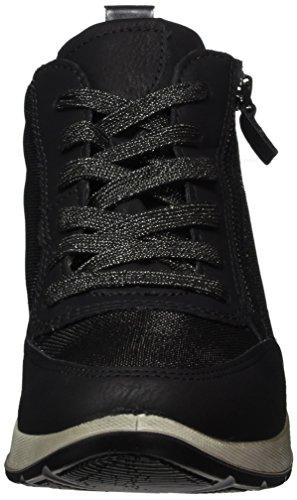 Jenny Damen Glendale-St Hohe Sneaker Grau (schwarz,titan)