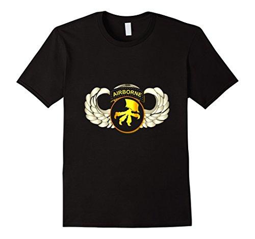 Mens 17th Airborne Division - Wings Tshirt XL ()
