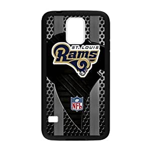 Changetime Funny Fashion New Ultra clear color high-definition image NFL St. Louis Rams Samsung Galaxy S5 case, Protector St. Louis Rams for Samsung Galaxy S5 Fitted Cases Vazza (Laser Technology)