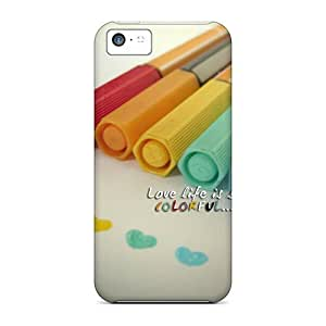 XiFu*MeiMycase88 Fashion Protective Love Is Colorful Cases Covers For iphone 4/4sXiFu*Mei