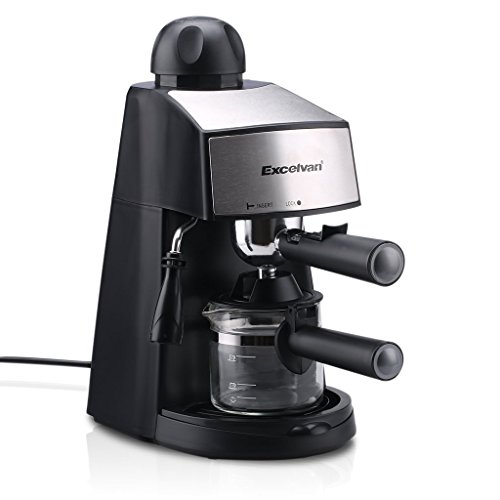Excelvan CM6811 Steam Espresso and Cappuccino Coffeemaker...