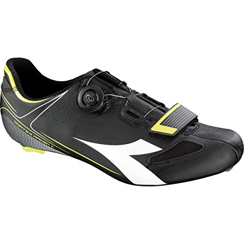 Diadora Vortex Road Racer 2 Noir/Blanc/Jaune Fluo