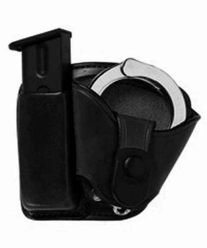 Bianchi 45 Mag/Cuff Paddle Pouch (Size 4, Black)