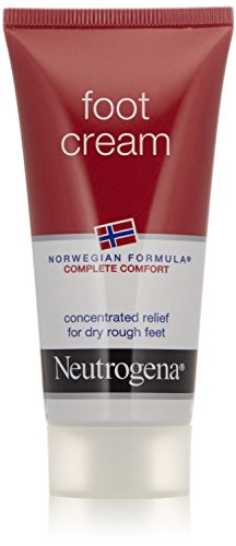 Neutrogena Norwegian Formula Foot Cream for Dry Rough Feet, 2 Ounce (Pack of 4)