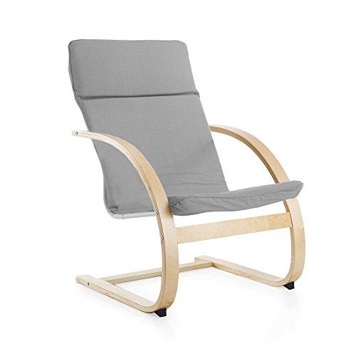 Guidecraft Teachers Rocker Gray Chair - School, Living Room Furniture by Guidecraft