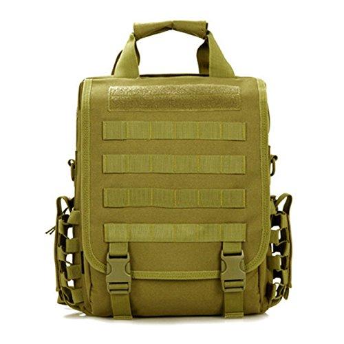 LarKoo 3 in 1 Sling Backpack Handbag Messenger Inclined shoulder bag -  Outdoor Multifunction Military Tactical db9567283e5d1