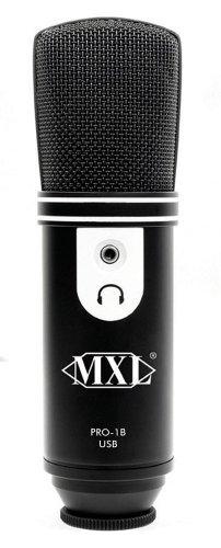 MXL USB Recording Microphone - Black