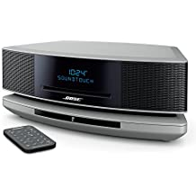 Bose Wave SoundTouch Music System IV - Platinum Silver, Compatible with Alexa