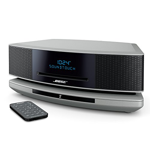Bose Wave SoundTouch Music System IV, works with Alexa, Platinum Silver (Speaker Boss System Home)