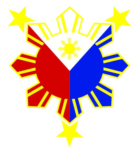- JS Artworks Philippine Flag Sun Vinyl Sticker Decal