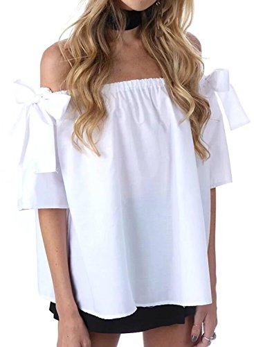 Futurino - Camisas - para mujer Weiß