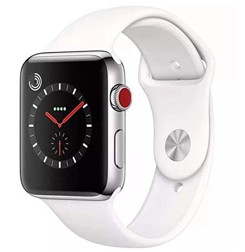 Amazon.com: Smart Watch Seire 4 iOS & Android (White): Cell ...