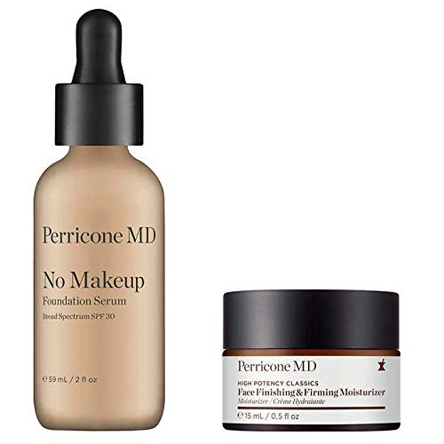 - Perricone MD No Makeup Serum SPF 30, 2oz Jumbo Size (Plus Added BONUS Face Finishing & Firming Moisturizer)