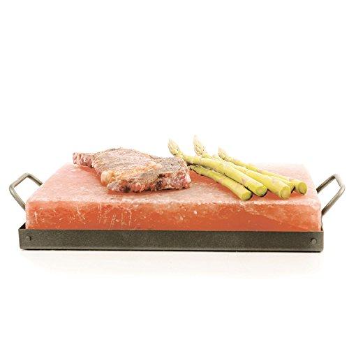 Himalayan Chef Pink Salt Cooking Plate 8
