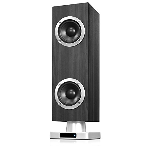 innovative-technology-16-inch-tall-tabletop-tower-bluetooth-stereo-system-gray-wood-grain-finish