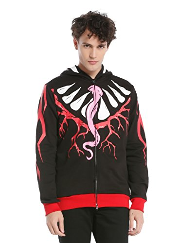 WWE Finn Balor Demon King Costume Full Zip Hoodie