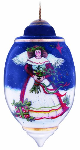 Ne'Qwa Christmas Eve Blessings Ornament (Susan Winget Angel Ornament)