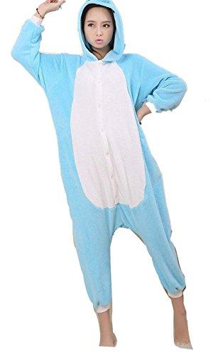 Animale Siamesi Pigiama Giochi Carnevale Femminile Elefante Vestiti Natale Unisex Fumetto Cosplay Maschio Halloween Pagliaccetto Ruolo Di Adulto Blu Costume Kigurumi Tuta Abbigliamento gCzxq