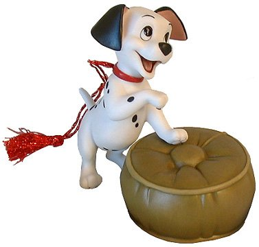 Wdcc Donald Duck - Wdcc Disney Classic Lucky 101 Dalmatians Figurine Ornament