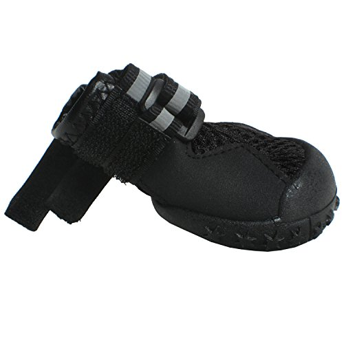 Paw Tech Extreme Dog Boot-Black-S