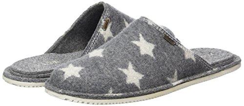 Erwachsene Pantoffel Unisex Grau Starwalk Grau Sterne Living Kitzbühel Pantoffeln fgatqwgxE