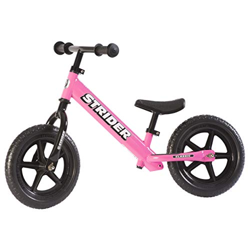 Strider - 12 Classic No-Pedal Balance Bike, Ages 18 Months to 3 Years, Pink - Pink Balance