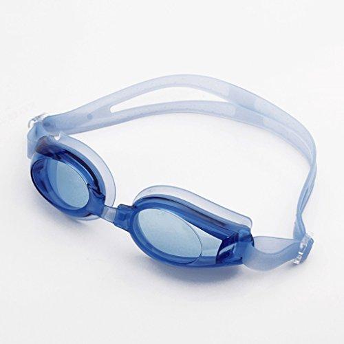 Purple la vidrios natación la Nadada del natación Grandes Blue Unisex Forman Gafas de los ZHJING Impermeables de Marco de de Color z5wFHPq