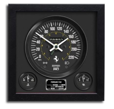 スピードメーター 壁掛時計 Ferrari F40 フェラーリ B076293RLZ