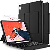 IVSO Keyboard Case for Apple iPad Pro 11 2018 Stand Cover Case with Wireless Keyboard & Pencil Slot (Auto Wake/Sleep