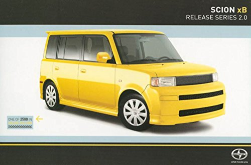 2005-scion-xb-release-series-20-original-factory-postcard