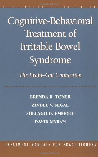 Cognitive-Behavioral Treatment of Irritable Bowel Syndrome: The Brain-Gut Connection by Brenda B. Toner PhD (1999-11-12)