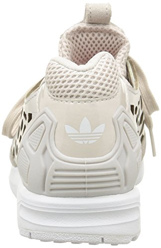 ftwr Zx pearl Paire Gris pearl Chaussures White Pour Grey woman Femme Adidas flux Sport lace De Grey ZdxqUpPwU